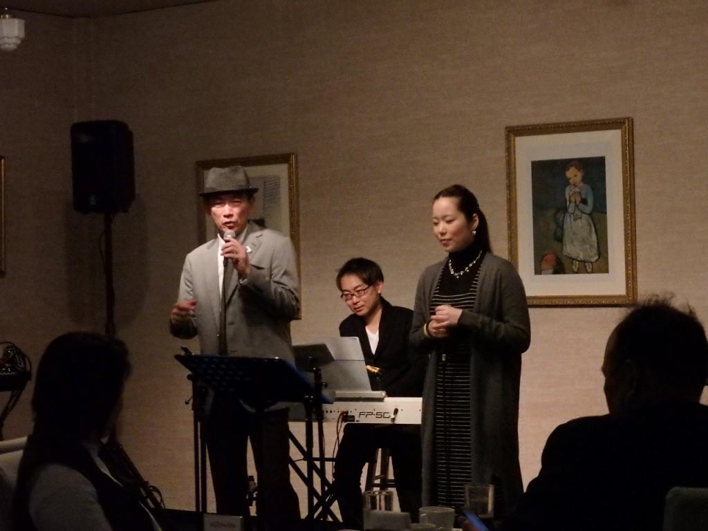 Megumi HIRATE & Shinji FUJII